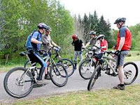 Bicycling Clubs can Reduce Stress