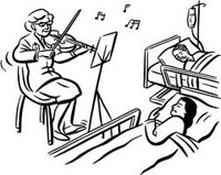Music Therapy to Reduce Stress with Bright Images Stress Control Program