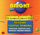 Bright Images Subliminal Beyound Positive Thinking CD, Tapes and mp3 Audio Self Help Programs