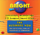 Bright Images The Ultimate You Subliminal Audio Self Improvement Audio CD, Tape & mp3 Programs